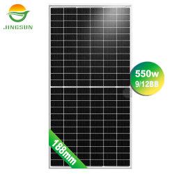 Высокая мощность Jingsun 525W-550W моно солнечной энергии в панели управления для системы