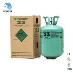100g-1000G 13,6 kg 22.7kg embalagem R22 Gás Refrigerante Freon R22