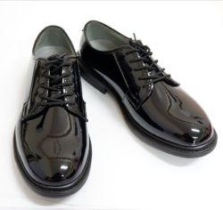 رجل أسود [بتنت لثر] [أإكسفورد] ثوب نمو مكتب حذاء