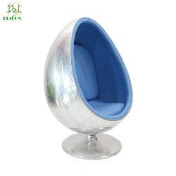 De Stoel van de Peul van het Ei van de Basis van de glasvezel/de Unieke Stoel van de Bal van het Ei van de Stijl