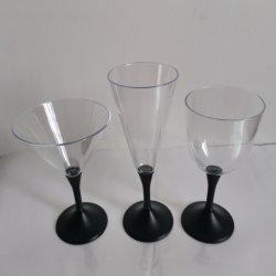 Hete Verkopende Staaf Gebruikte Plastic LEIDENE van de Douane Opvlammende het LEIDENE van de Kop Drinken van Champagne Koppen