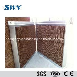 Het verdampings Koelen het Document van het Stootkussen voor het Systeem van de Ventilatie met het Frame van het Aluminium