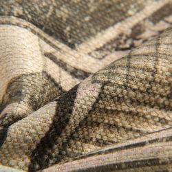 100%Polyestery tecido impresso utilização têxtil sofá, cortina e móveis