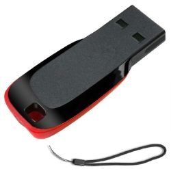 Disco USB Flash 64 GB Sandisk 128 GB USB 2.0 CZ50 Flash Unità flash USB su disco