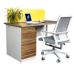 Panel personalizado de madera de teca, nuevo diseño de muebles baratos de computación de escritorio