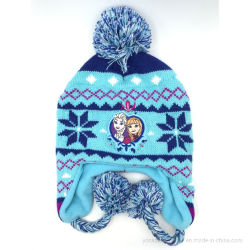 Les enfants personnalisé Animal Hat, étoffes de bonneterie de volet de l'oreille Hat