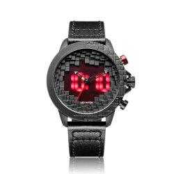 Высокое качество мужчин часы с ремешок из натуральной кожи подарочные часы для изготовителей оборудования в Китае (по-S0031)