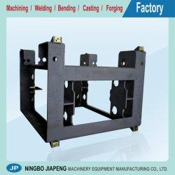 Solde a estrutura de aço, pré-tratamento, equipamentos CNC/maquinação/usinado/peças de máquinas