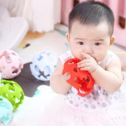 Высококачественный силиконовый шарик зубные кольца для малышей