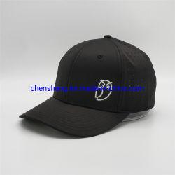 Il PVC di gomma personalizzato di stampa degli uccelli neri ha stampato le protezioni adatte del papà dei cappelli di sport di baseball della flessione del foro di estate
