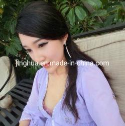 ばねおよび夏の女性衣服のためのこんにちはマルチ軽くて柔らかいクレープ固体75D 2800twist