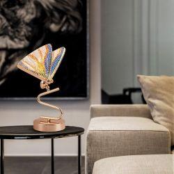Lampada da tavolo a farfalla Nordic Bedside Lamp tavolo scandinavo verticale moderno Luce (WH-MTB-63)