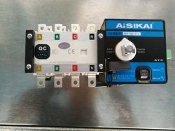 Tamaño de la Min Skt2-100polos 4AC110V de tensión de trabajo ATS Interruptor de cambio Interruptor de transferencia automática