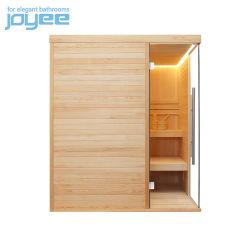 Joyee Factory Hot Sale Goedkope Prijs 1800mm breed Groot formaat Hoek Sauna kamer Hout voor Badkamer