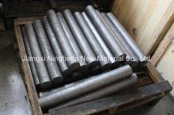 La barra de grafito de carbono de alta calidad de la varilla de grafito para fundición refinería de aluminio de agitación