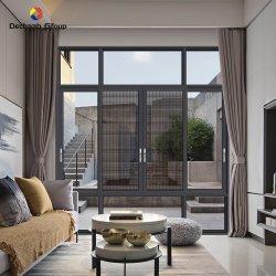 공장 맞춤 설정 Mosquito Net/Grill/Mesh Casement Window High Double Tempered 유리 알루미늄 하우스 슬라이딩 창문