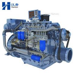Motore diesel marino di Weichai Deutz WP6C 226B con la scatola ingranaggi per la barca e la nave