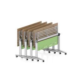 Tabella di piegatura di legno dello scrittorio delle forniture di ufficio per il progetto moderno Office&School