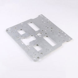 Kundenspezifischer Aluminium CNC, der Metallherstellung-Blech-Teile aufbereitet