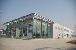 Design de moda de Estrutura de aço prefabricados 4s loja automóvel em aço de Luz