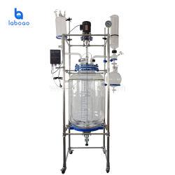 Laboratorio de Química Farmacéutica China de vidrio revestido Precio Reactor