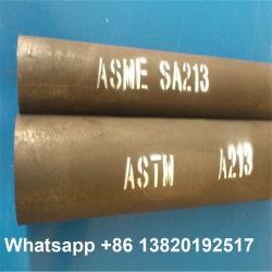 Котел подогрева трубопровода водомасляного охладителя ASTM SA213 T11, T12, T22 Бесшовный алюминиевый стальной трубы