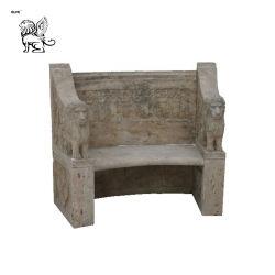 Antike Klassische Außenlandschaft Antike Marmorbank Sitze Mbg-20