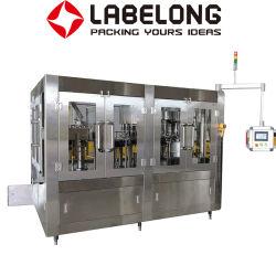 Vino della protezione di parte superiore della bottiglia di vetro/alcool/liquore/alcoli automatici/imbottigliatrice di coperchiamento di riempimento di lavaggio della birra