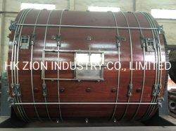 Tamburo rotante automatico per la macchina d'abbronzatura di cuoio, timpano di tintura