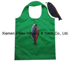 Sac shopping pliable de promotion, Style de poissons d'animaux, réutilisable, léger, cadeaux, accessoires et décoration, sacs d'épicerie