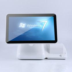 Beeprt Barato Windows 15polegadas tela sensível ao toque Caixa registradora eletrônica com impressora de recibos