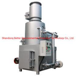Incinerador de residuos médicos, incinerador de residuos industriales, animales domésticos de cremación incinerador (CMA)
