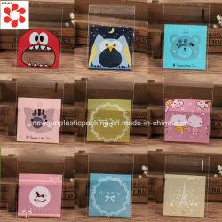 Sacchetti di plastica autoadesivi laminati CPP personalizzati di OPP con colore stampato per l'imballaggio dei regali
