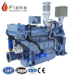 В Weichai wd10 морской дизельного двигателя 400HP судовой двигатель с наддувом