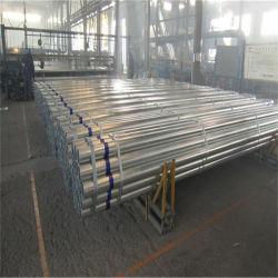 Support GB der China-Großhandelsdünnwandiger städtischen Technik-Dn40 Hot-DIP galvanisierter 2.3 galvanisiert ringsum Rohr