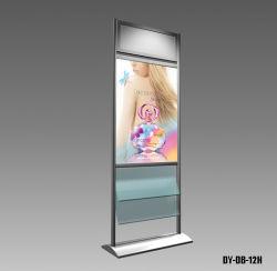 Support d'écran affiche la bannière de l'aluminium étagère