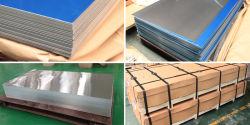 99,6 % alliage en aluminium 1060 Feuille en aluminium de la vente directe en usine