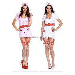 Для взрослых смешные карнавал женщин Sexy Nurse Хэллоуин костюм группа костюм