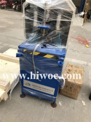 Venda Direta de fábrica 2 Anos de garantia no canto Tempo Janela de limpeza da máquina de porta para o perfil de PVC/UPVC Canto Perfis de Máquinas de limpeza de janela de PVC a máquina