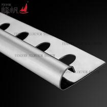 Testo fisso rotondo standard tedesco delle mattonelle dell'acciaio inossidabile