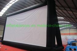 Outdoor air gonflable l'écran, écran de projection de film gonflable