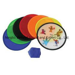 Impressão personalizada Twistable Ventilador de Mão de Nylon com bolsa