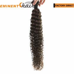 Entrega instantânea Virgem Extensão de cabelo humano