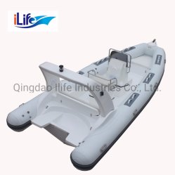 Ilife ребра 580hc ПВХ/Hypalon жесткого корпуса Firberglass надувных резиновых промысел спорта FRP ребра на лодке