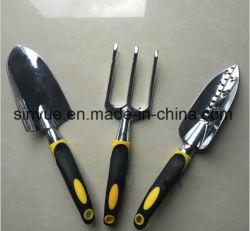 Alliage en aluminium avec poignées ergonomiques Soft Touch et l'outil SAC Jeu d'outils de jardin