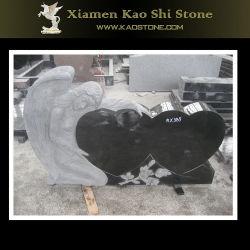 De marmeren Grafsteen van het Beeldhouwwerk van de Engel van de Slaap van het Monument voor Begraafplaats