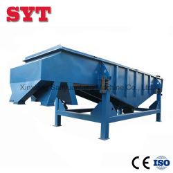 Q235d'un acier au carbone de grande capacité de la machine de la grille vibrante de sable linéaire
