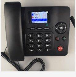 カラーディスプレイ4G Lte Fwpの人間の特徴をもつデスクトップの固定無線電話