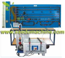 Le débit dans les réseaux du tuyau d'appareils de l'enseignement de l'équipement mécanique des fluides des équipements de laboratoire Matériel éducatif