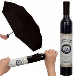 Le pliage parapluie, bouteille de vin, de la promotion parapluie Parapluie parapluie Parapluie de cadeaux, de la pluie